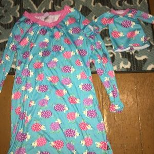 Dollie and me pajama set